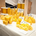 Beeswax Candles and honey