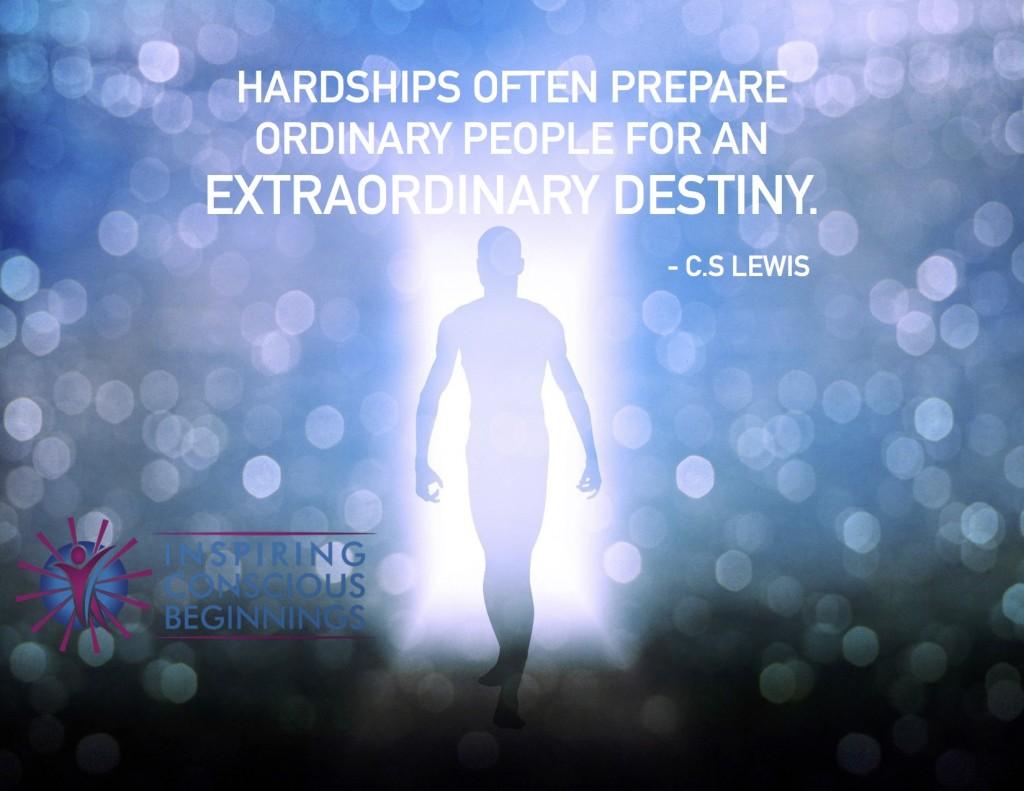Hardships often prepare