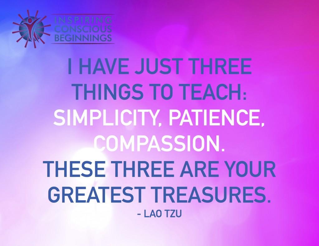 I have just three
