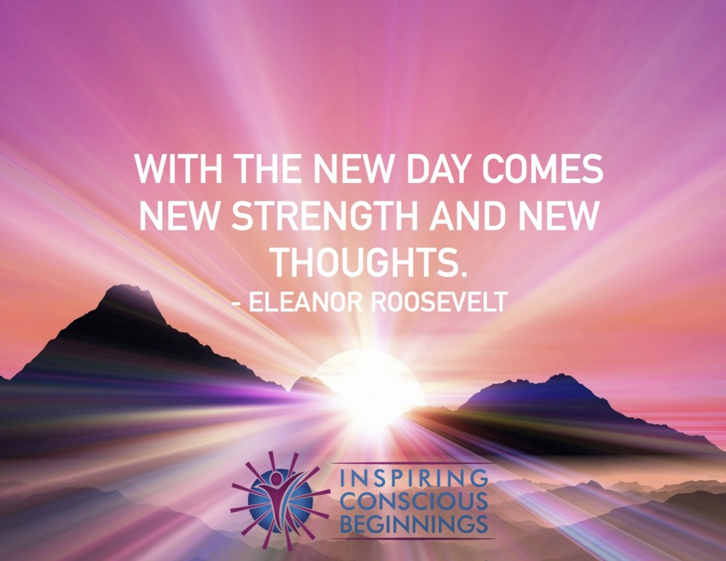 With each new day