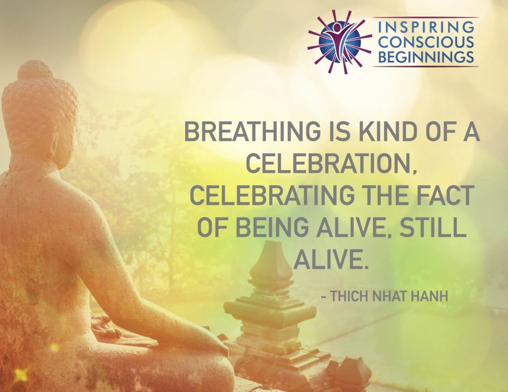 Breathing is